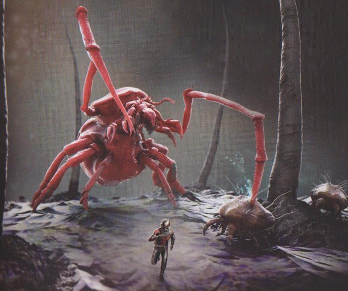 Arte conceptual de Ant-Man y la Avispa (2018)