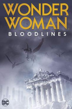 Póster de Wonder Woman Bloodlines (2019)