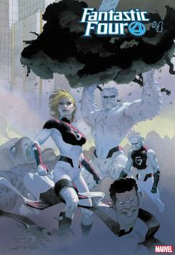 Los Fantastix en la portada de Fantastic Four #4