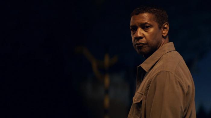 El actor Denzel Washington en The Equalizer 2 (2018)