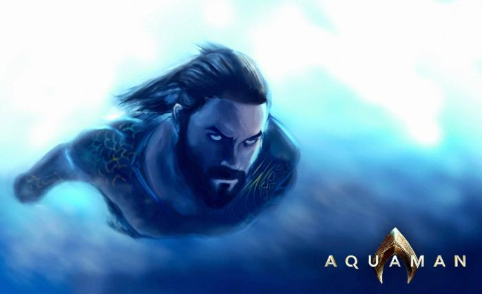 [Cine] Nuevo artwork de Aquaman - BdS - Blog de Superh