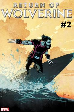 Imagen portada del cómic The Return of Wolverine #2