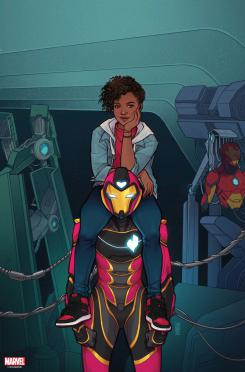Portada alternativa de Ironheart #1
