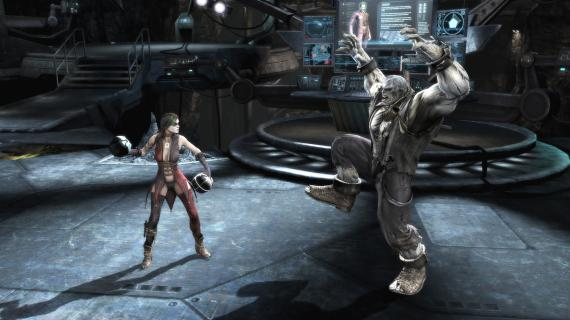 Captura del videojuego Injustice: Gods Among Us (2013)