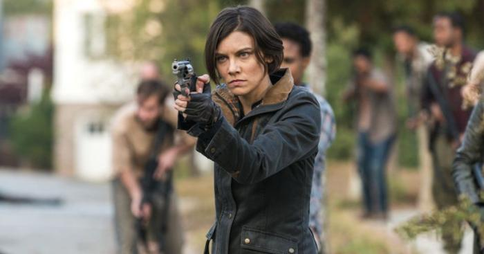Imagen de la Maggie en la octava temporada de The Walking Dead