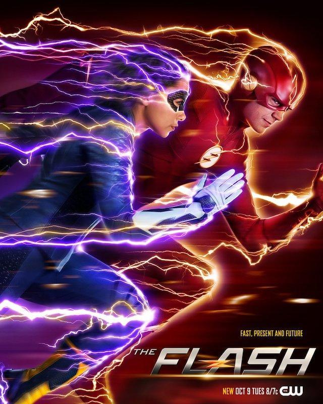 Póster de la quinta temporada de The Flash (2014 - ?)