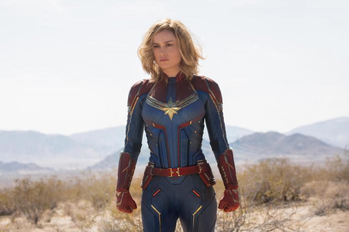 Imagen de Carol Danvers en Capitana Marvel / Captain Marvel (2019)