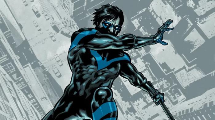 Imagen de Nightwing en los cómics