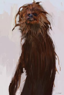 Concept art de Han Solo: Una historia de Star Wars (2018)