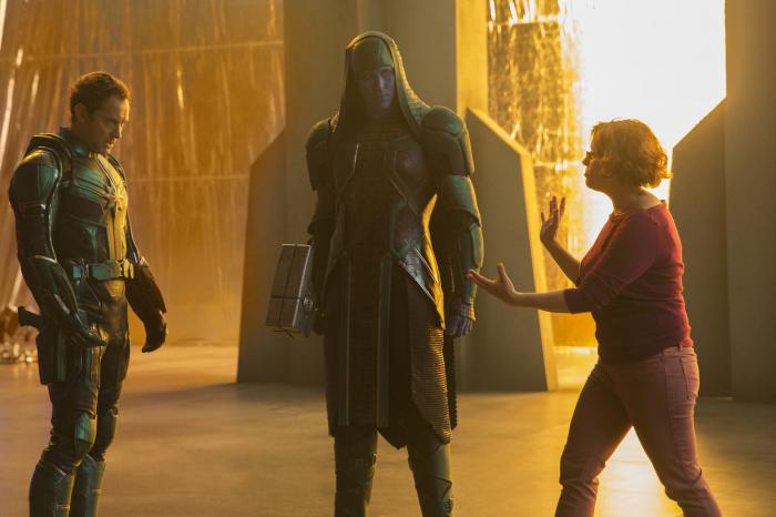Imagen oficial del set de Capitana Marvel (2019)