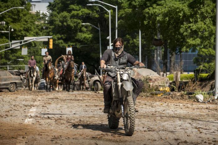 Imagen de la novena temporada de The Walking Dead
