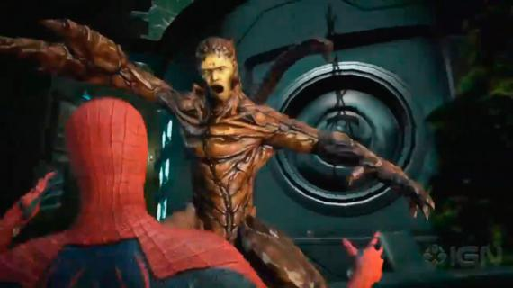 Captura del trailer del E3 del videojuego The Amazing Spider-Man (2012)