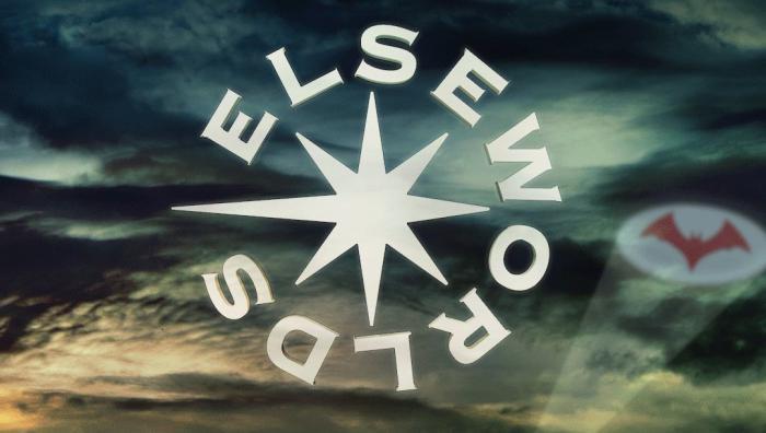 Imagen promocional de Elseworlds, el crossover del Arroverse en 2018