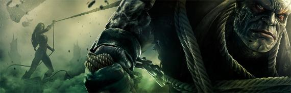 Banner del videojuego Injustice: Gods Among Us (2013)