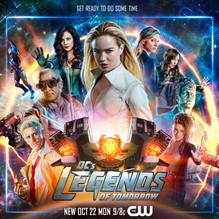 Póster de la cuarta temporada de Legends of Tomorrow