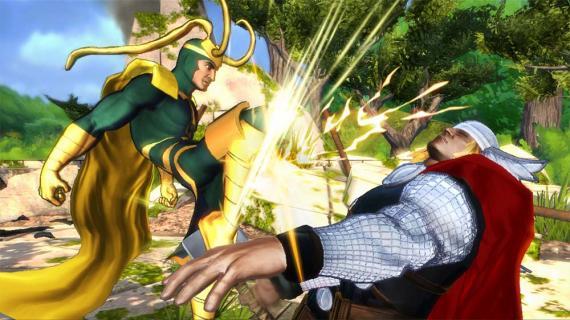 Imagen del videojuego Marvel Avengers: Battle for Earth (2013)