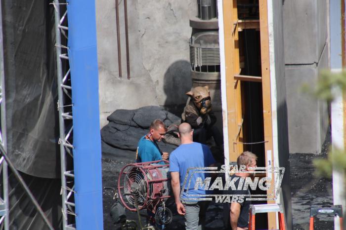Imagen del set de The Mandalorian