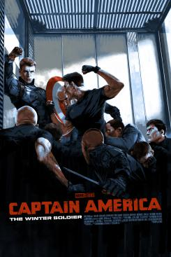 Captain America: The Winter Soldier por Aspinall (Variant)