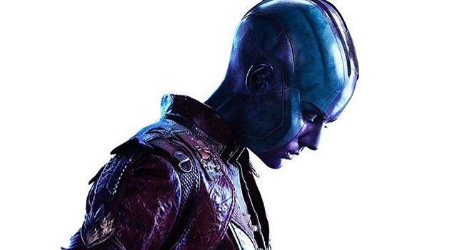 Imagen promocional de Nébula en Vengadores: Infinity War (2018)