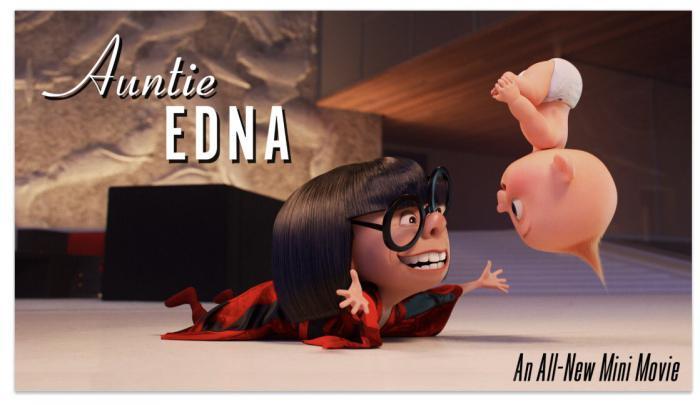 Imagen promocional del corto Auntie Edna (Tía Edna)