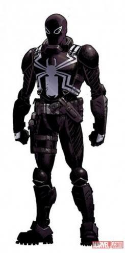 Imagen de los cómics de Venom con Flash Thompson