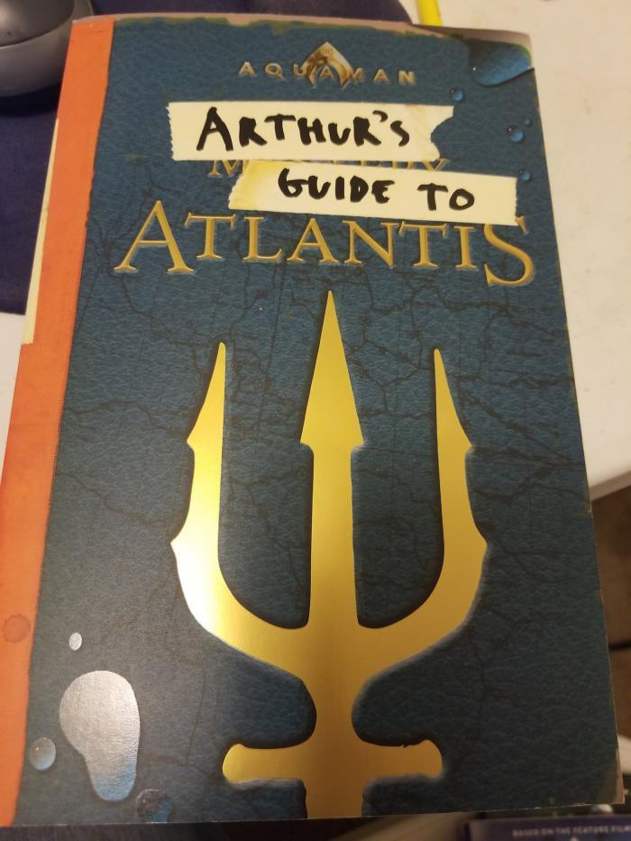 Imagen del libro Arthur's Guide to Atlantis