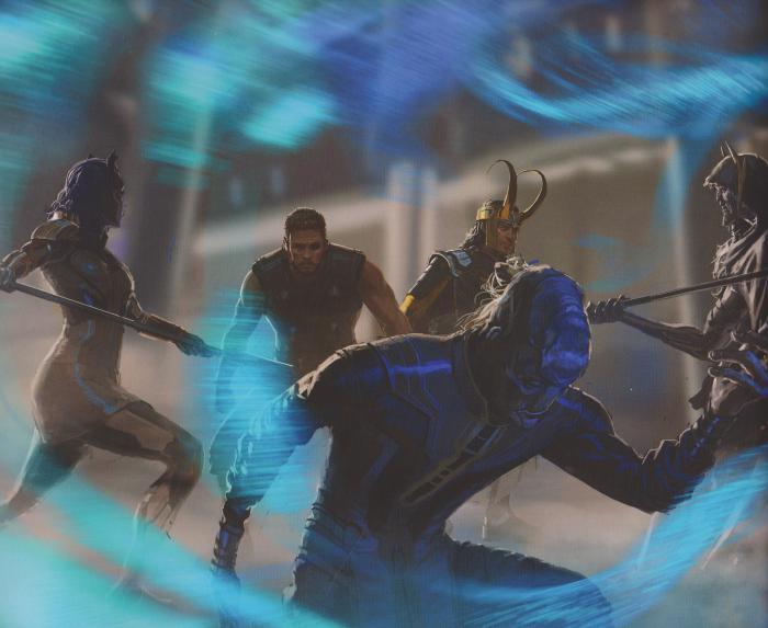 Concept art a baja calidad de Vengadores: Infinity War (2018)