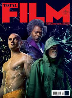 Portada de Total Film dedicada a Glass (2019)