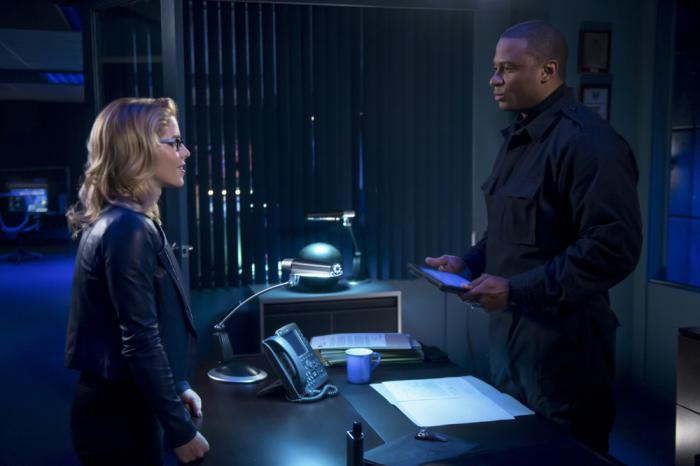 Imagen de Arrow 7x06: Due Process