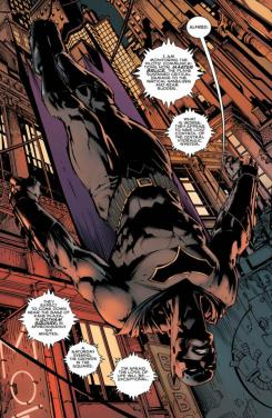 Imagen de Batman #1, por Tom King y David Finch
