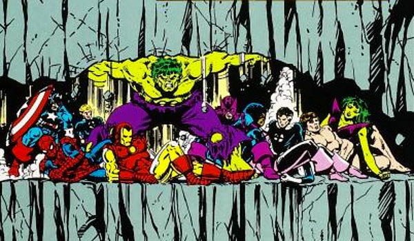 Imagen de Secret Wars, crossover Marvel de 1984-1985