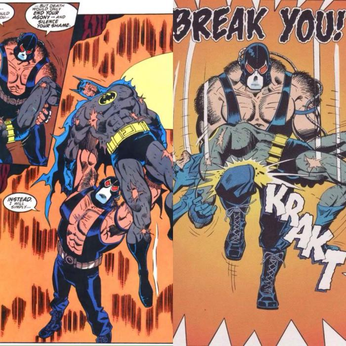 Bane vs Batman: Knightfall