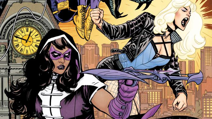 Birds of Prey en los cómics de DC