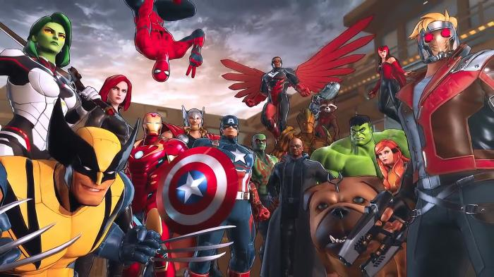 Imagen promocional de Marvel Ultimate Alliance 3: The Black Order (2019)
