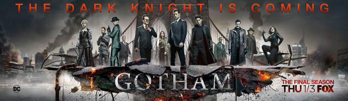 Banner de la quinta temporada de Gotham (2019)