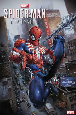 Spiderman city at war nº 1