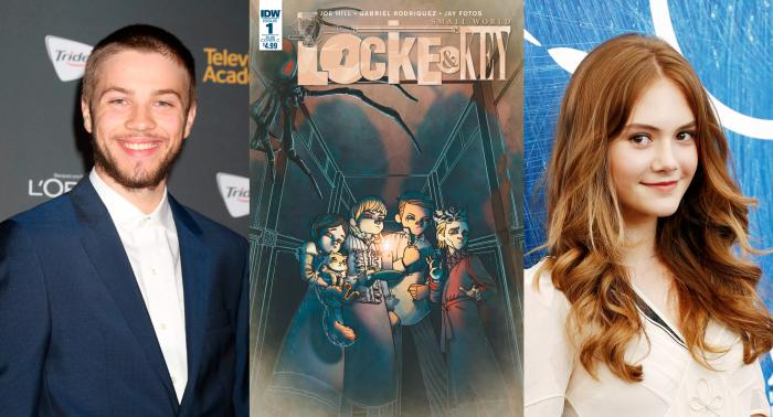 Connor Jessup y Emilia Jones protagonizarán Locke & Key, de Netflix