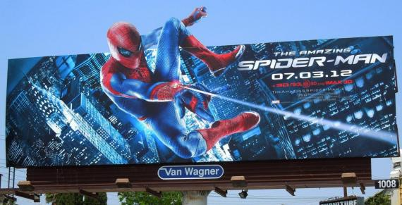Valla publicitaria de The Amazing Spider-Man (2012)