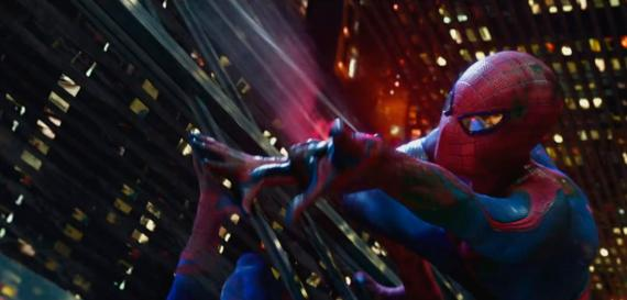 Captura del TV Spot de The Amazing Spider-Man (2012)