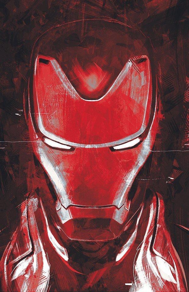 Arte promocional de Vengadores: Endgame (2019)