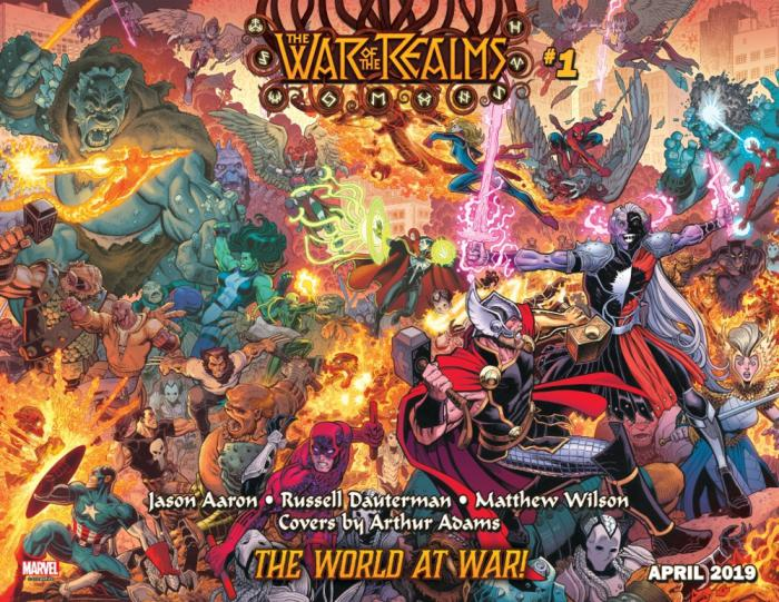 Imagen portada de War of the Realms #1