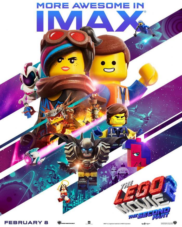 Póster IMAX de The LEGO Movie 2: The Second Part (2019)