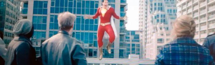 Imagen a baja calidad del segundo trailer de ¡Shazam! (2019)