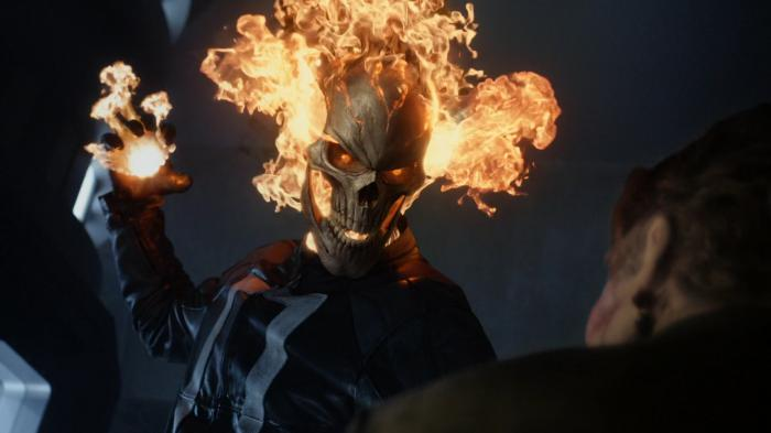 Imagen de Ghost Rider en Agentes de S.H.I.E.L.D. 4x02: Meet the new boss