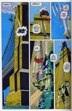 Muerte de Gwen Stacy en el cómic The Amazing Spider-Man #121
