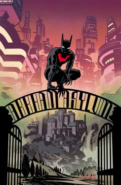 Portada de Batman Beyond #31