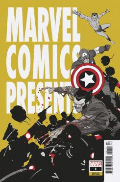 Portada alternativa de Marvel Comics Presents #1