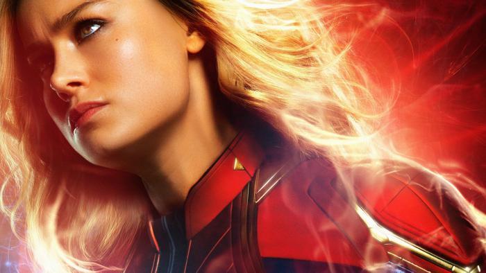 Póster individual de Captain Marvel (2019)
