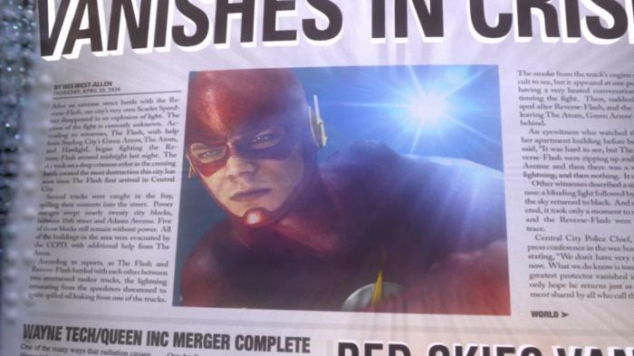 Periódico avanza la desaparición de Flash: Vanishes in Crisis (Crisis of 2024)