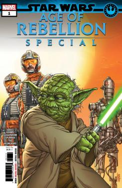 Portada de Star Wars: Age of Rebellion Special #1